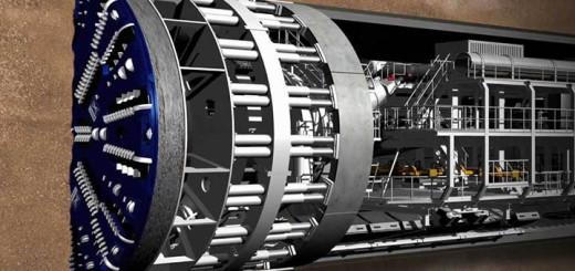 tbm tunnel boring machine
