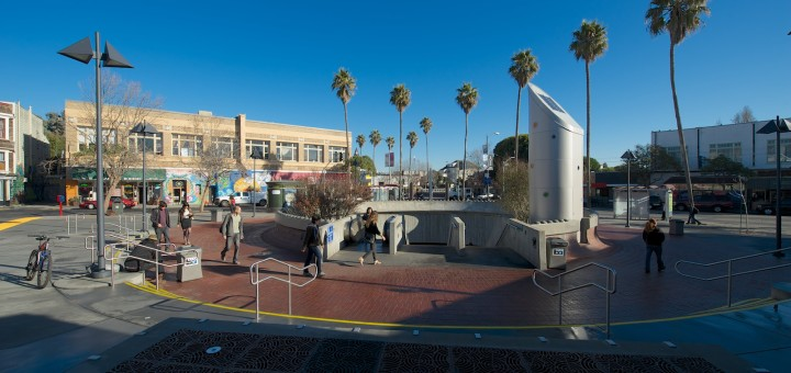 24M Plaza BART entrance