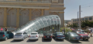BART Concept Station Fulton & Parker