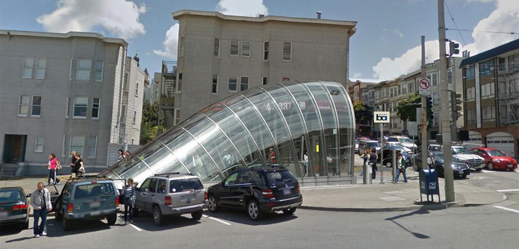 BARt Concept Station Stanyan & Fulton